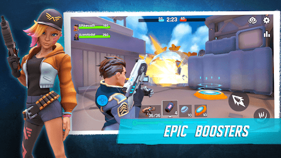 Heroes of Warland - Party shooter with hero RPG!