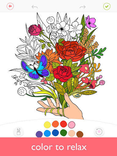Colorfy: Free Coloring Games - Paint Color Book screen 0