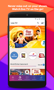 Tata Sky Mobile- Live TV, Movies, Sports, Recharge Mod 11.0 Apk (Unlocked) 4