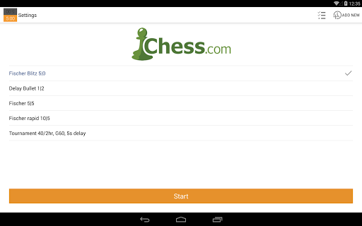 Chess Clock 1.0.4 Screenshots 8