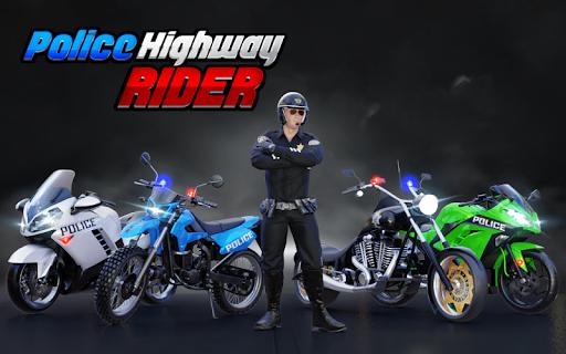 Police Moto Bike Highway Rider Traffic Racing Game  Screenshots 13