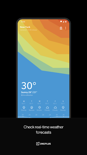 OnePlus Weather Varies with device screenshots 1