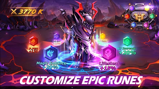 Runelords Arena: Tactical Hero Combat IDLE RPG Apk Mod + OBB/Data for Android. 4