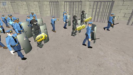 Battle Simulator: Prison & Police apktram screenshots 10