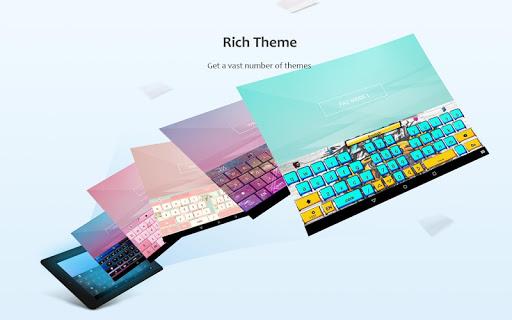 GO Keyboard Lite - Emoji keyboard, Free Theme, GIF 3.23 Screenshots 15