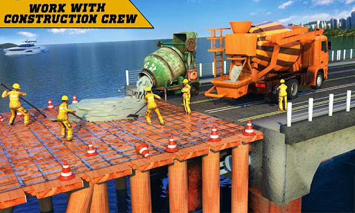 City Bridge Builder Construction Simulator Games  screenshots 1