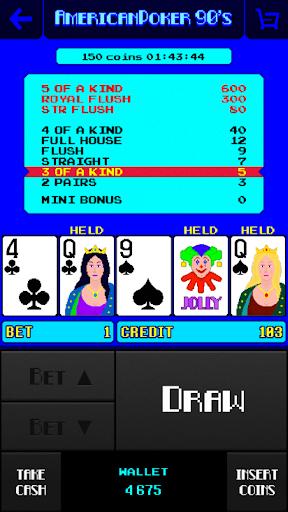 American Poker 90's Casino 2.3.18 screenshots 2