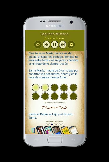 Captura 4 de Santo Rosario con Audio para android