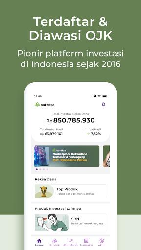 Bareksa - Investasi Reksadana & SBN Online  screenshots 2