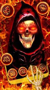 Evil, Hell, Skull Theme & Live Wallpaper 1.0 Mod + Data for Android 3