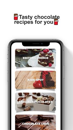 Chocolate recipes: Chocolate recipes offline  screenshots 1