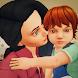 リアル 母 生活 シミュレーター ハッピー 家族 ゲーム 3d - Androidアプリ