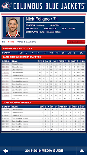 Columbus Blue Jackets Interactive Media Guide For PC Windows (7, 8, 10, 10X) & Mac Computer Image Number- 8
