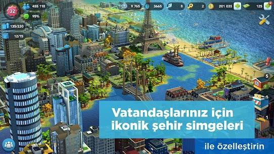 SimCity BuildIt Para Hileli Apk 1.35.1.97007 2
