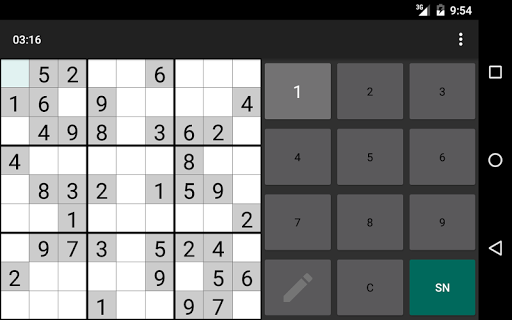 Open Sudoku 3.6.0 screenshots 24
