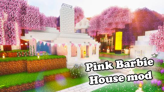 Mod Barbie Pink House for MCPE Apk 2021 1