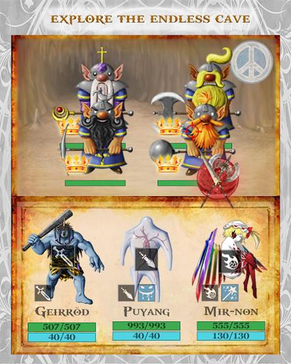 Fantasy Cave D&D Style RPG  screenshots 1