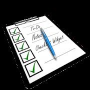 To Do Notes: Task List, Checklist Widget