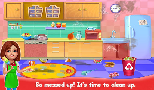Big Home Cleanup and Wash : House Cleaning Game apkpoly screenshots 5