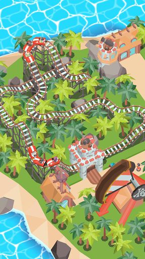 Coaster Builder: Roller Coaster 3D Puzzle Game  screenshots 1
