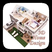 3Dホームデザインのアイデア|間取り図