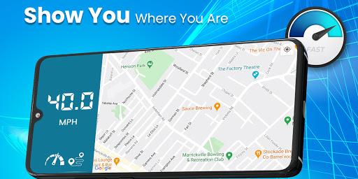 Digital Speedometer - GPS Offline odometer HUD Pro 3.5.7 Screenshots 2