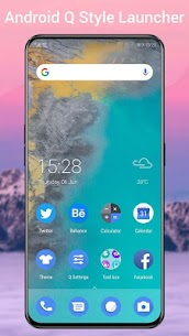 Q Launcher Mod Apk for Q 10.0 launcher, Android Q 10 (Premium Unlocked) 1