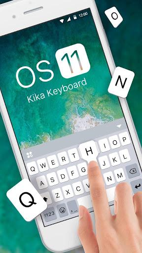New OS11 Keyboard Theme 108.0 Screenshots 1