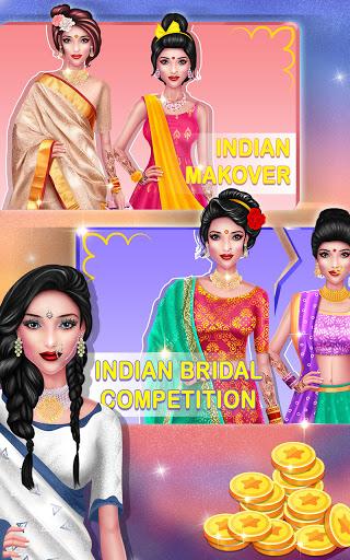 Wedding Fashion Stylist: Indian Dress up & Makeup 1.0 screenshots 23