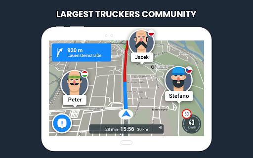 RoadLords - Free Truck GPS Navigation android2mod screenshots 15