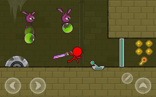 Red Stickman : Animation vs Stickman Fighting android2mod screenshots 13
