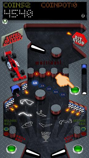 riffel pinball racing screenshot 1