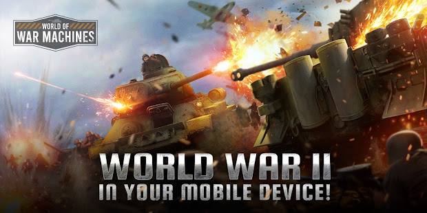 World of War Machines - WW2 Strategy Game 10070 screenshots 1