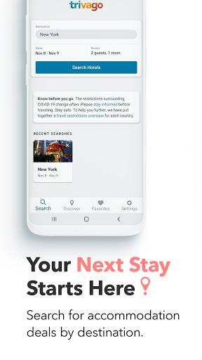 trivago: Compare hotel prices 5.34.0 Screenshots 1