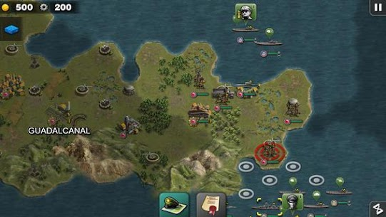 Glory of Generals : Pacific – World War 2 Mod Apk 1.3.12 (Unlimited Medals) 5