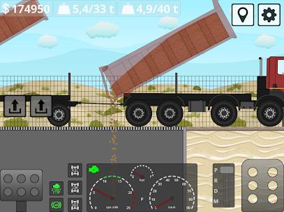 Mini Trucker – 2D offroad truck simulator MOD APK 1.6.0 (Purchase Free) 14