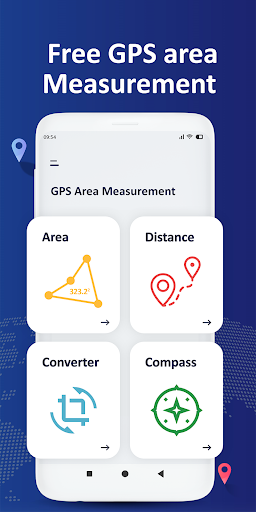 GPS Field Area Measurement u2013 Area Measuring app 2.0.0 Screenshots 1