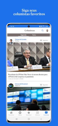 Estadu00e3o - notu00edcias com credibilidade android2mod screenshots 2