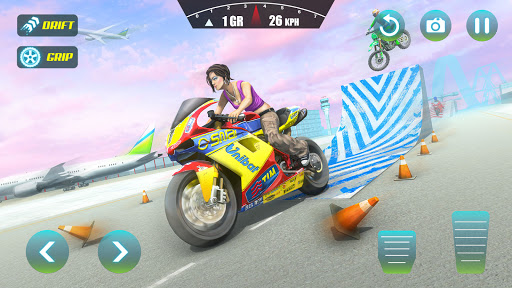 City Bike Driving Simulator-Real Motorcycle Driver android2mod screenshots 1