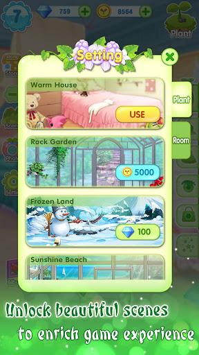 ud83dudc57ud83dudc52Garden & Dressup - Flower Princess Fairytale  Screenshots 8