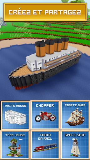 Block Craft 3D: Jeux Gratuit de Construction APK MOD screenshots 4