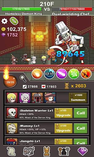 Homeless Demon King(Idle Game) screenshots 8