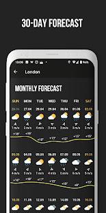 MeMeteo - weather forecast screenshots 6