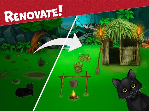 Island Puzzle: story basiertes game. Match offline  screenshots 13