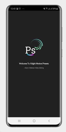 Alight Motion Presets 1.9 Screenshots 11