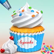 Sweet Cupcake Baking Shop: Dessert Games