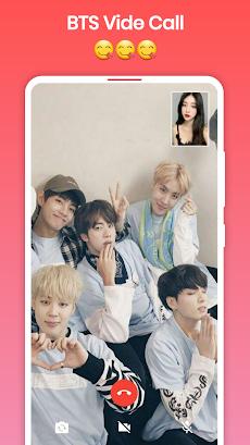 BTS Video Call : Fake Video Call BTSのおすすめ画像4