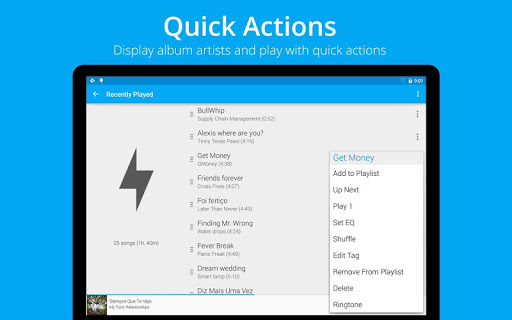 Rocket Music Player Ad Remover  screenshots 18