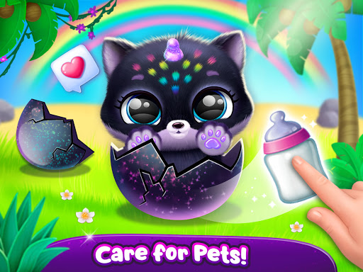 Fluvsies Pocket World - Pet Rescue & Care Story apkpoly screenshots 21
