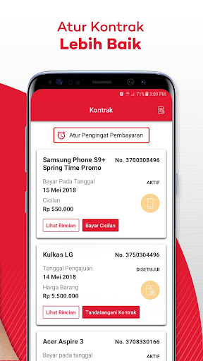 My Home Credit Indonesia apktram screenshots 4